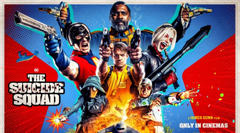 The Suicide Squad Poster Featured 1