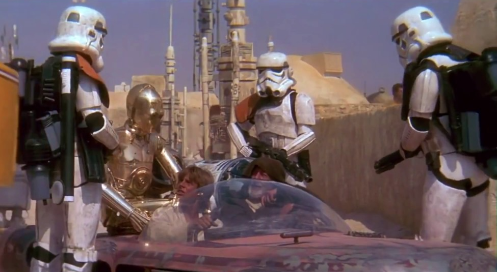 These arent the droids youre looking for Star Wars mos eisley