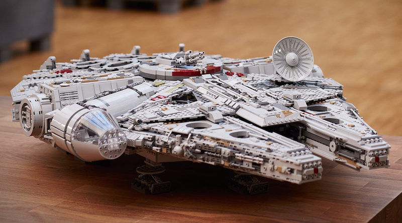 Top 20 LEGO Sets List Star Wars 75192 Millennium Falcon Title 800x445