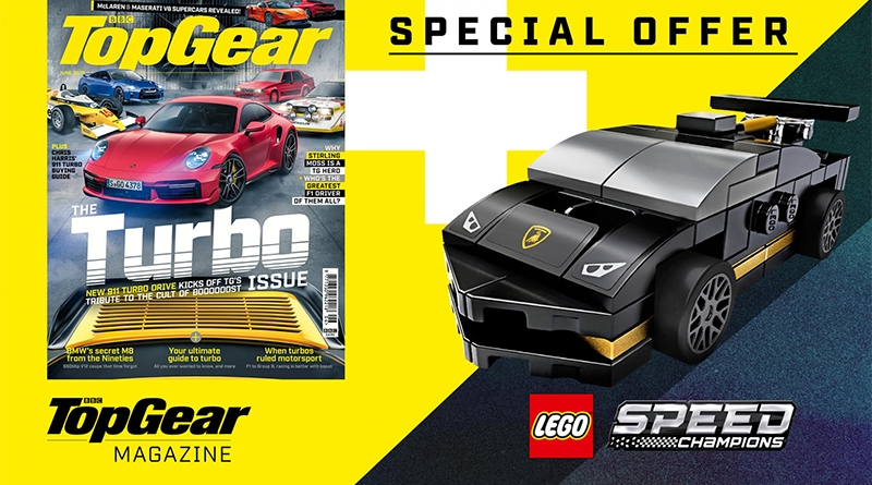 Top Gear Magazine LEGO Speed Champions Featured