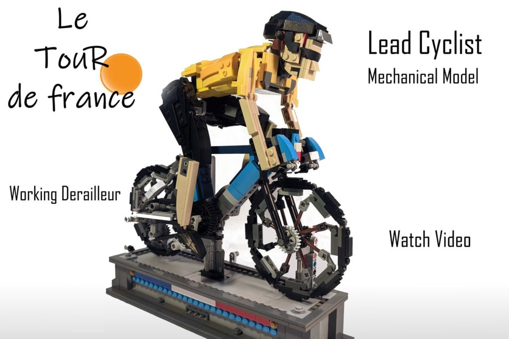 Tour De France Lead Cyclist Mechanical Model By ConductionProductions