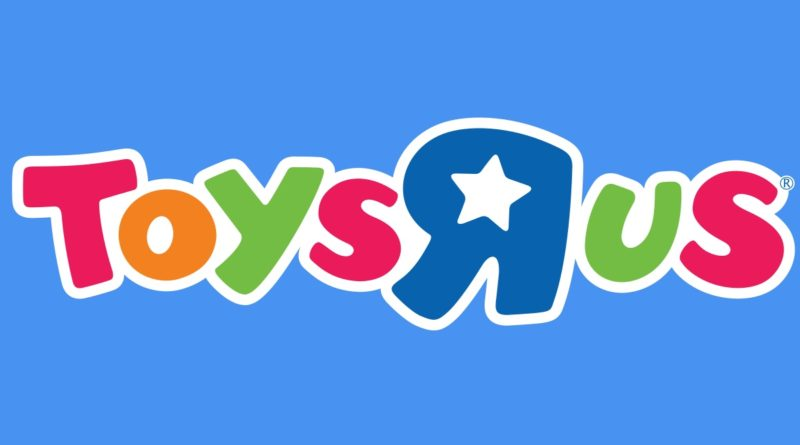 Toys R Us logo featured