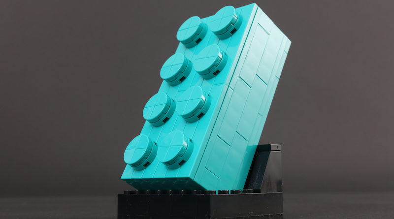 VIP Weekend LEGO 5006291 2×4 Teal Brick review title