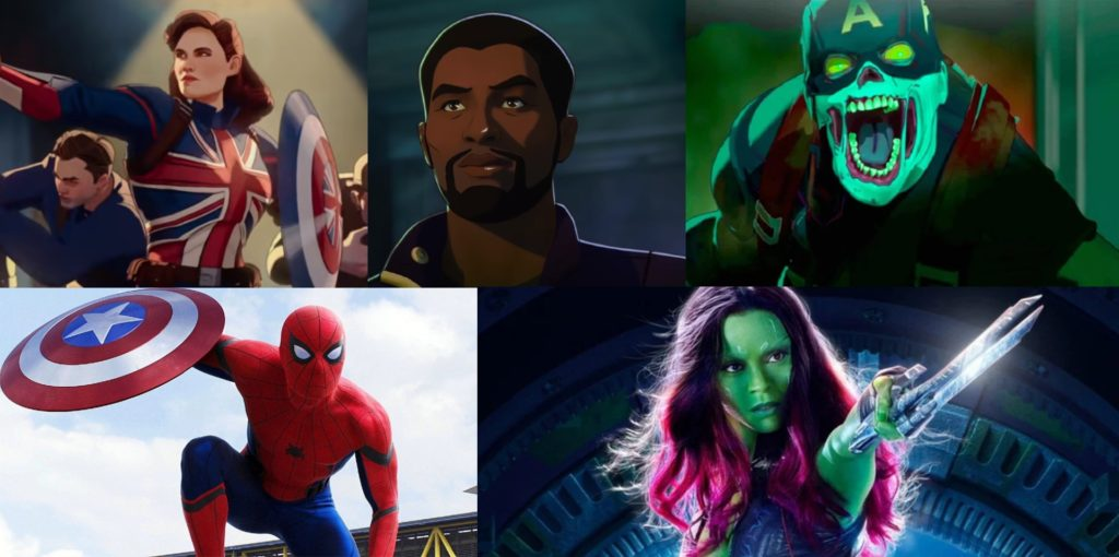 What if Marvel LEGO who are the characters featured