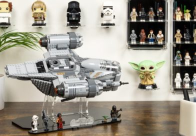 Exclusive: 10% off LEGO display cases, stands and frames at Wicked Brick