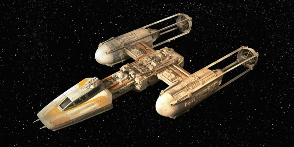 Y Wing Fighter