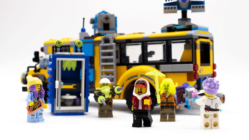 Lego Hidden Side 70423 Paranormal Intercept Bus 3000 Review