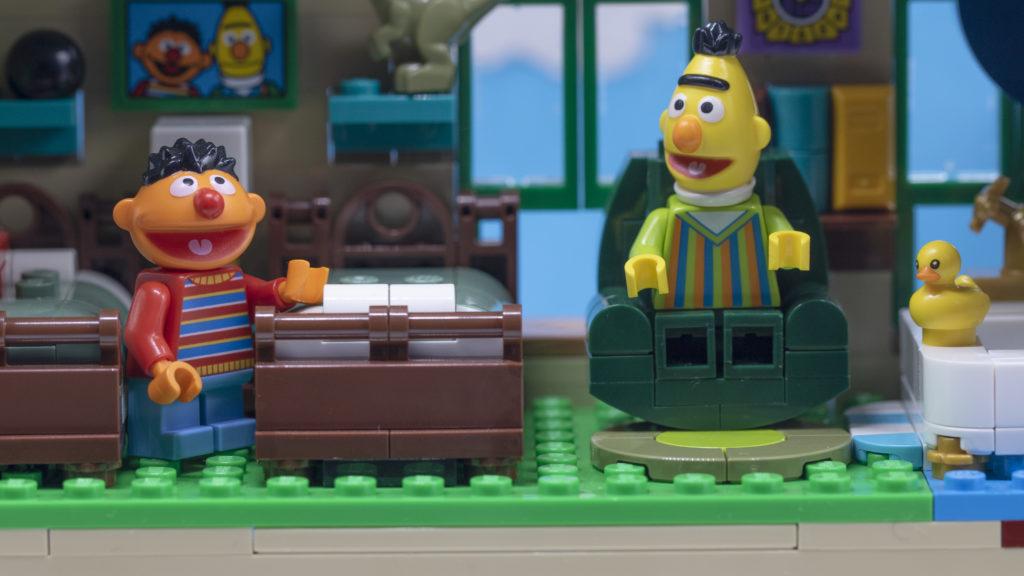 Bert And Ernie In Their Room 1