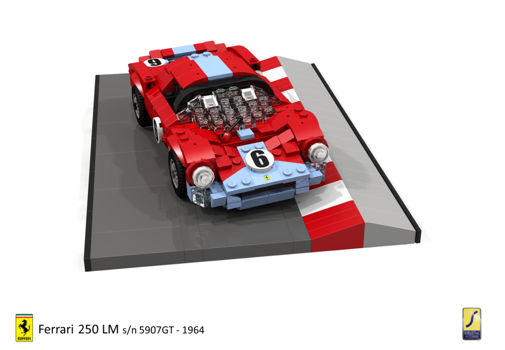 Brick Pic Of The Day Ferrari 1