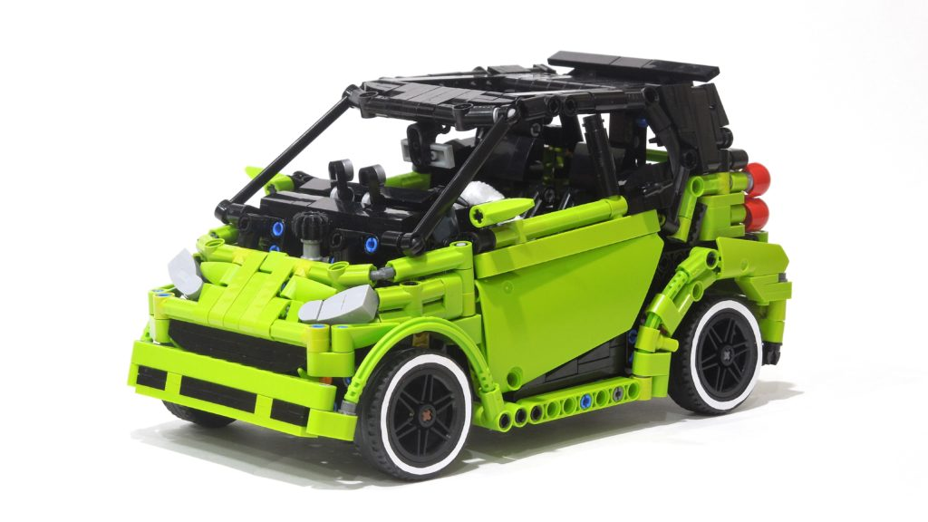 brick pic of the day smart car