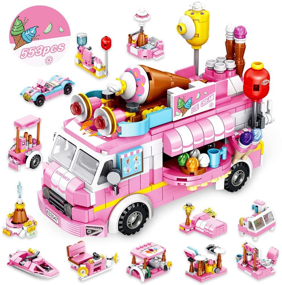 clone brand ice cream truck