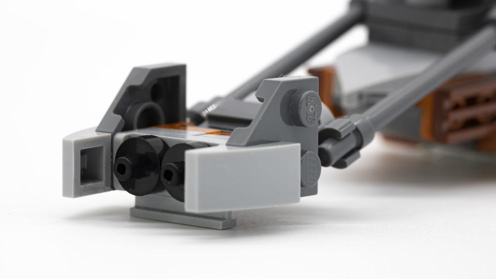 close up speeder front white