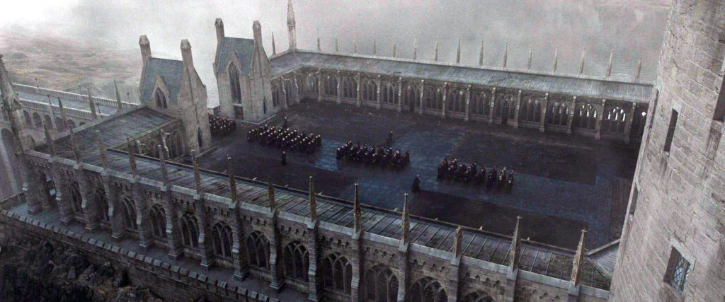 harry potter Viaduct Courtyard