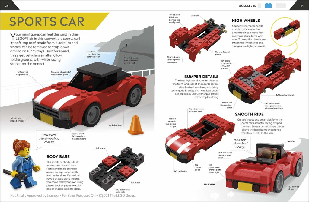 How To Build LEGO Cars Book Inside 1