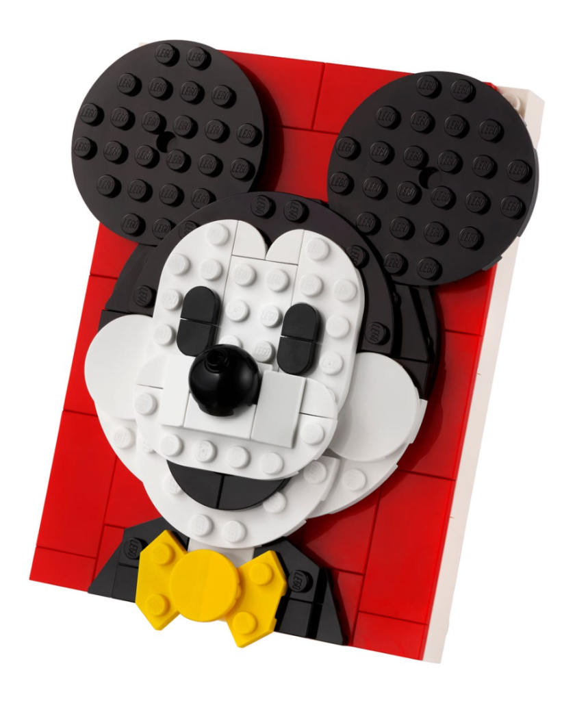 Lego 40456 Mickey Mouse Box Contents 1