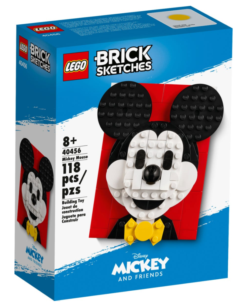 Lego 40456 Mickey Mouse Box