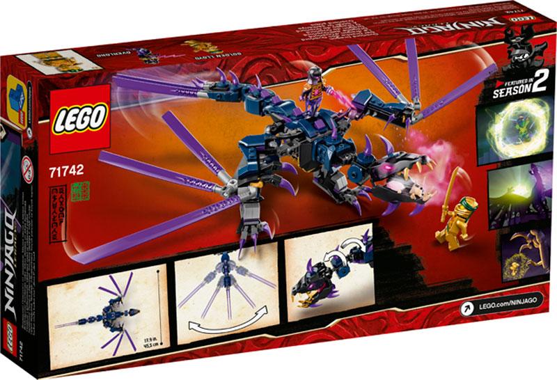 Lego 71742 Ninjago Overlord Dragon 2