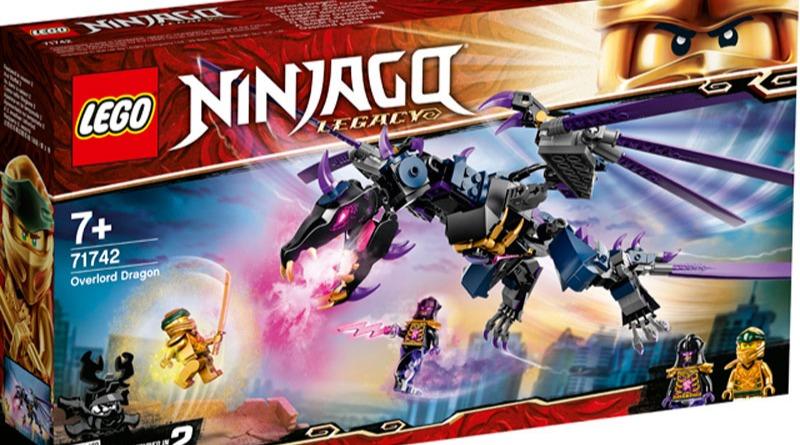 Lego 71742 Ninjago Overlord Dragon Featured