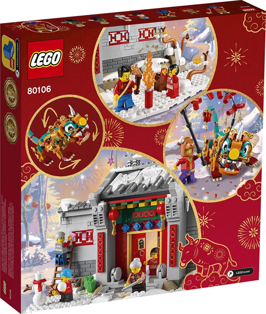 Lego 80106 Story Of Nian Box 2