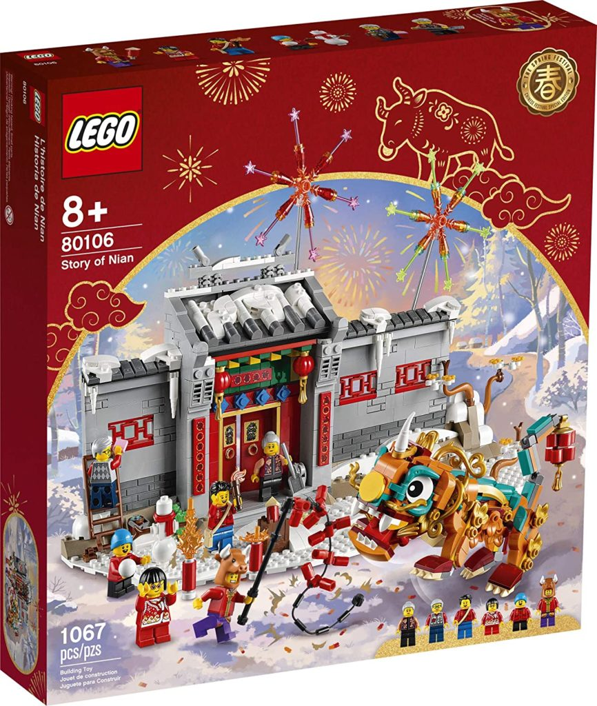Lego 80106 Story Of Nian Box