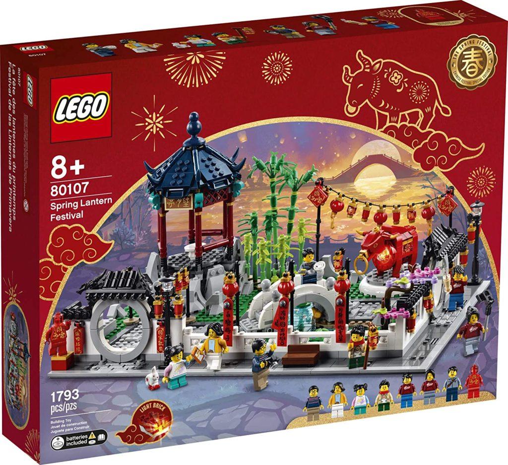 Lego 80107 Spring Lantern Festival Box