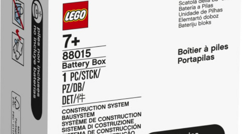 Lego 88015 Powered Up Battery Box Featured