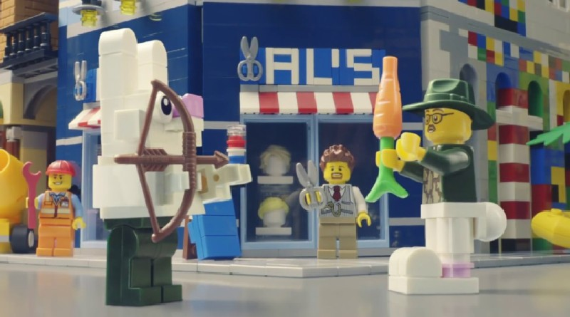 Lego Advert Featured New