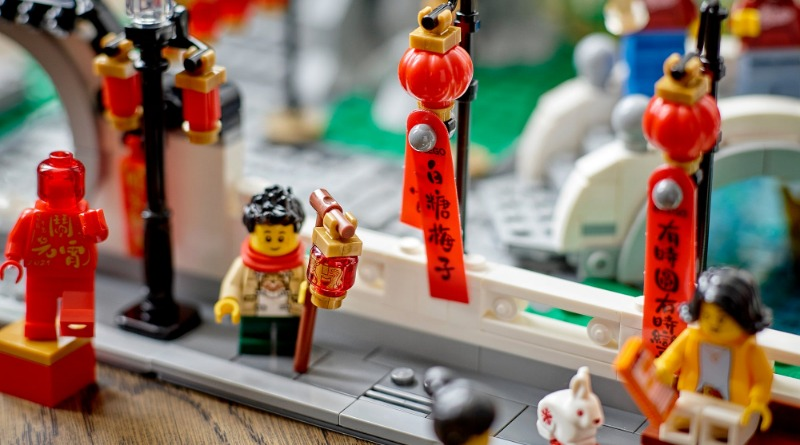 Lego Chinese New Year 80107 Spring Lantern Festival Featured