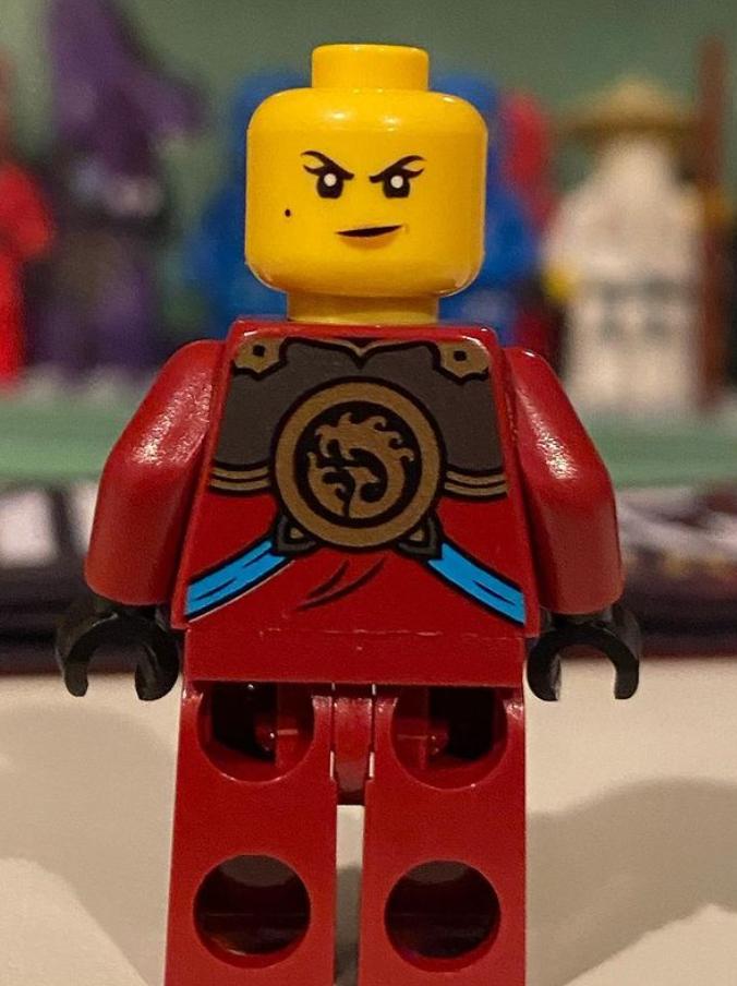 lego future nya ninja minifigure back