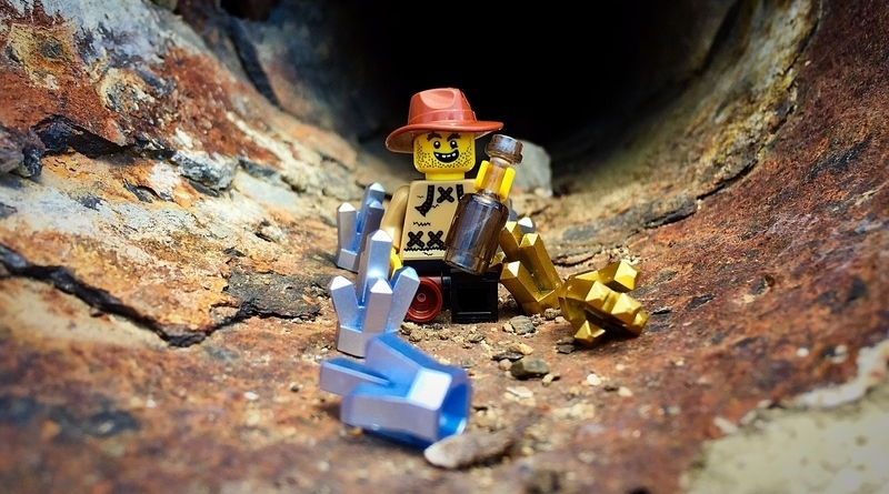 Lego Gold In Them Hills RS