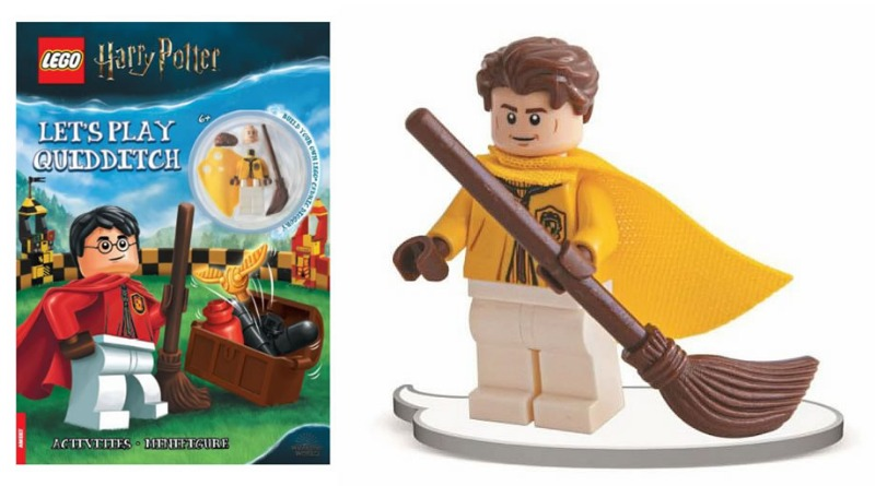Lego Harry Potter Cedric Diggory Quidditch Minifigure Outfit 2021 Featured