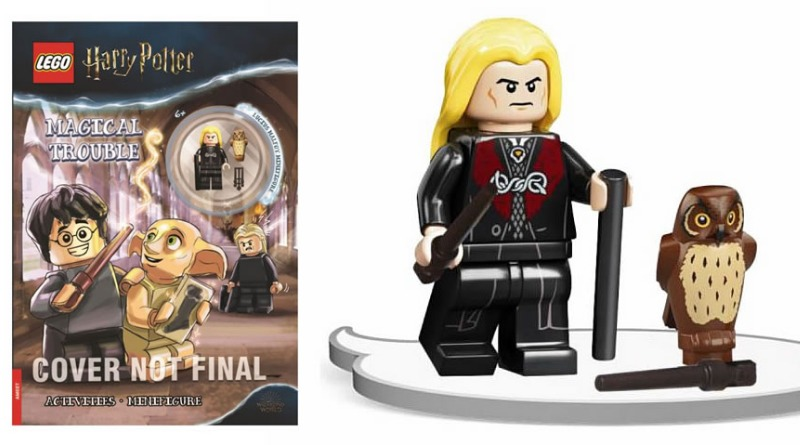 Lego Harry Potter Lucius Malfoy Diagon Alley Outfit 2021 Featured