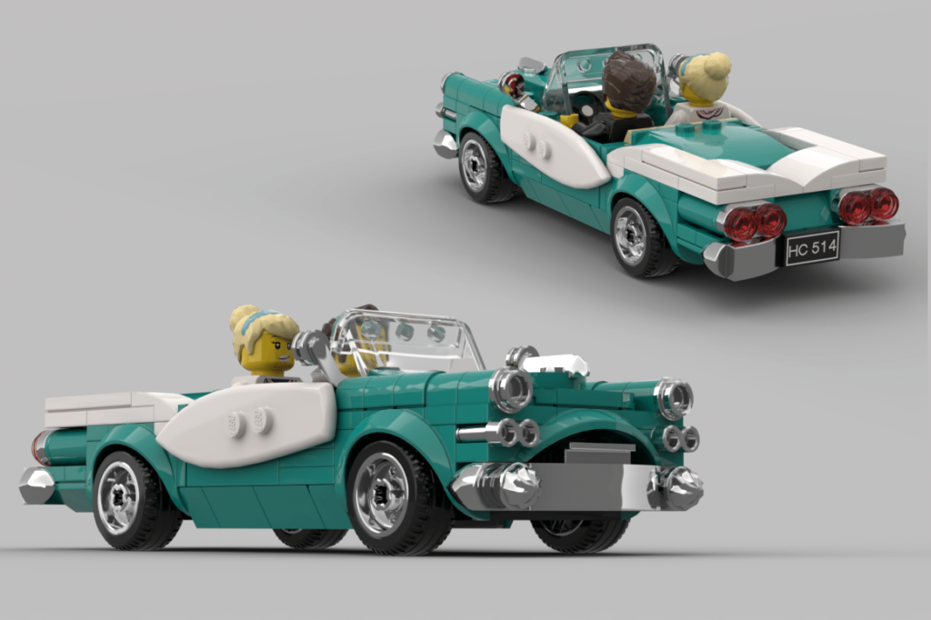 Lego Ideas Vintage Car Contest Winner 1024x682