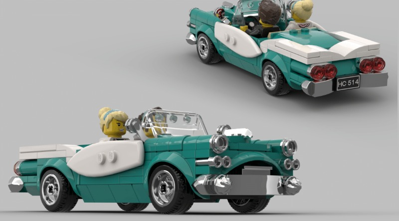 Lego Ideas Vintage Car Contest Winner Featured