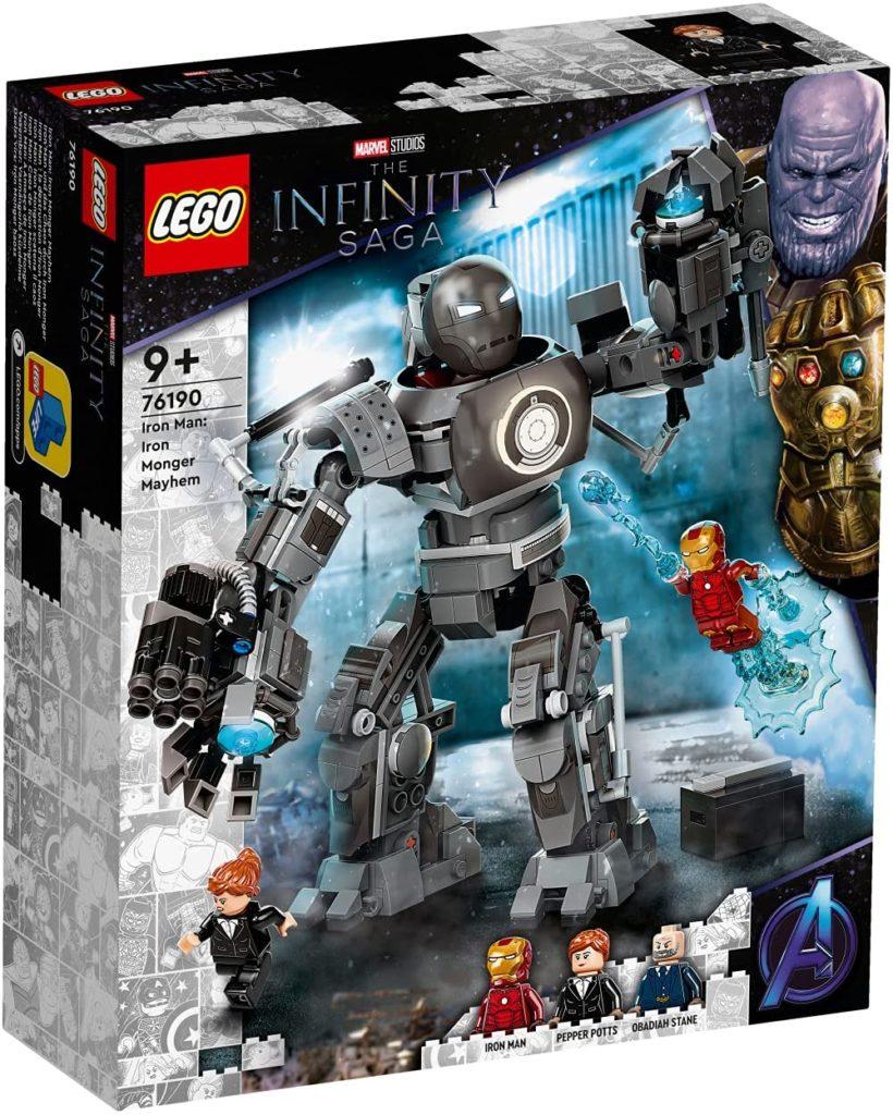 lego marvel 76190 iron man iron monger mayhem 1