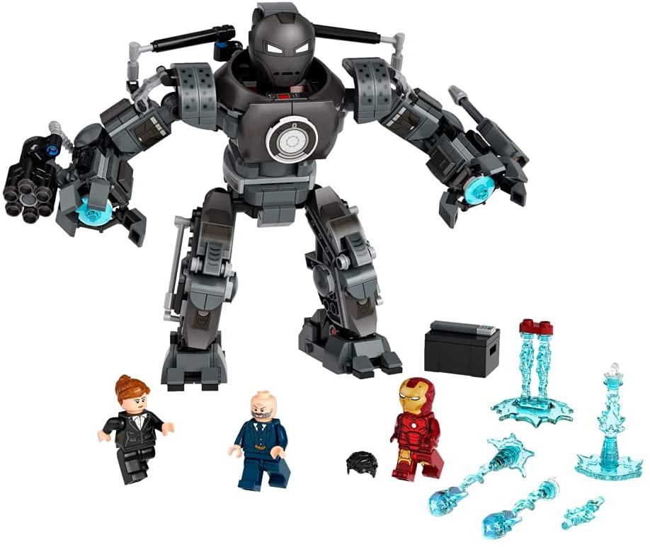 lego marvel 76190 iron man iron monger mayhem 2