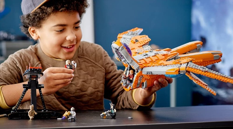 Lego Marvel 76193 The Guardians Ship Featured