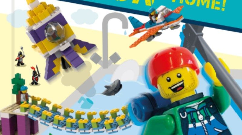 lego minifigure mission book featured new