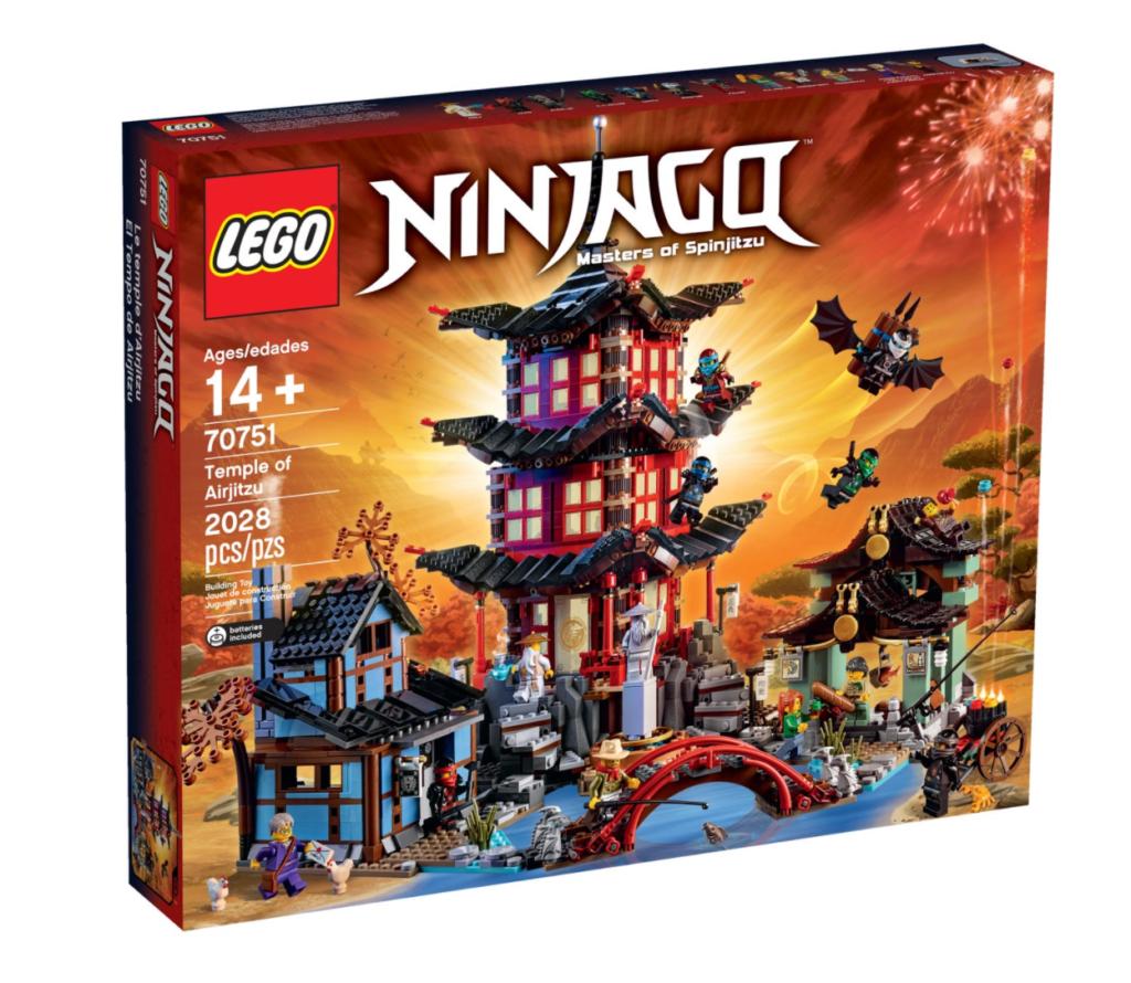 lego ninjago 70752 temple of airjitzu