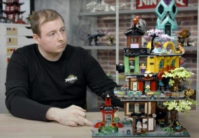 Get the inside scoop on LEGO 71741 NINJAGO City Gardens in new designer video