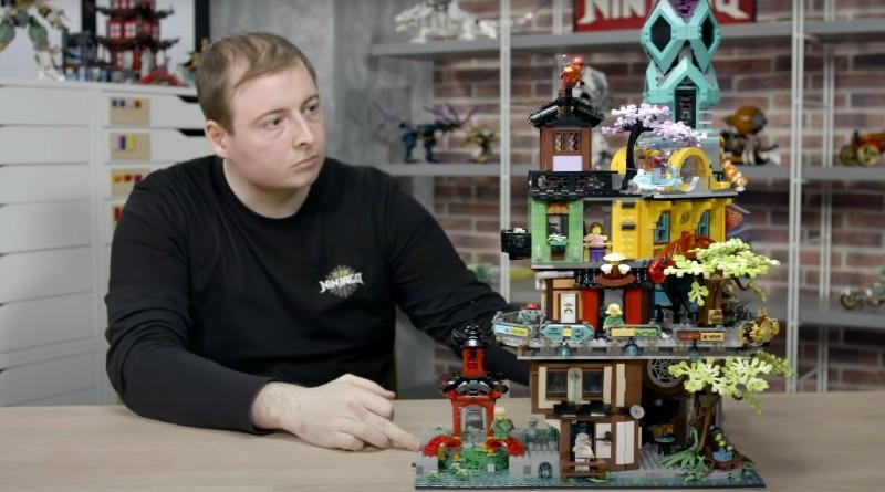 Lego Ninjago 717141 Ninjago City Gardens Designer Video