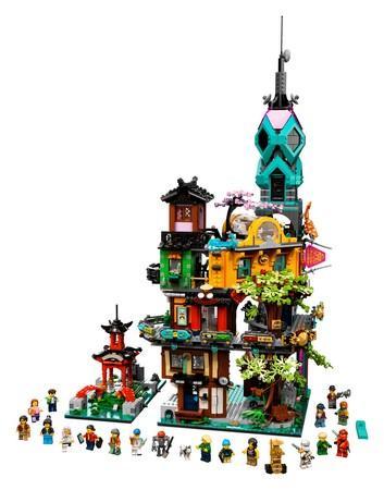 Lego Ninjago 71741 Ninjago City Gardens Certified Store 9