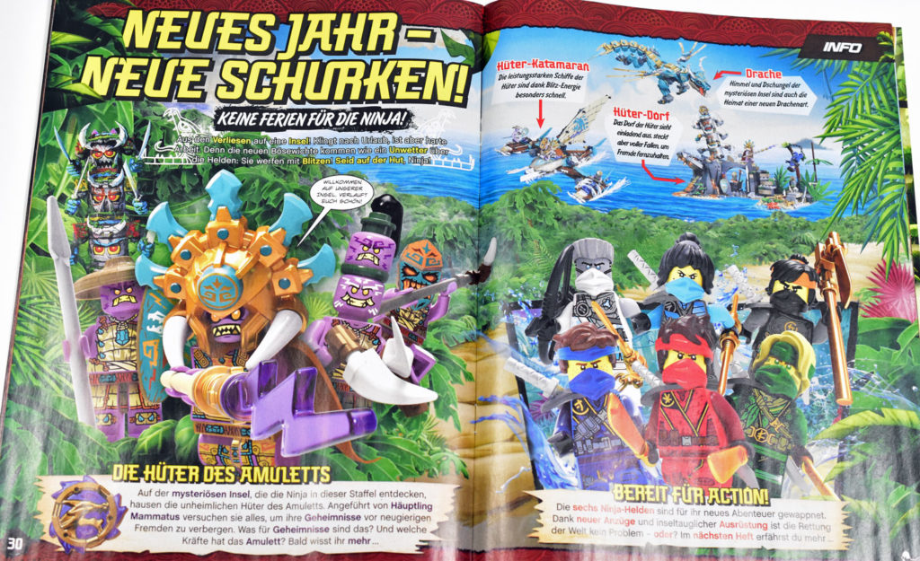 Lego Ninjago Magazine Issue 71 1
