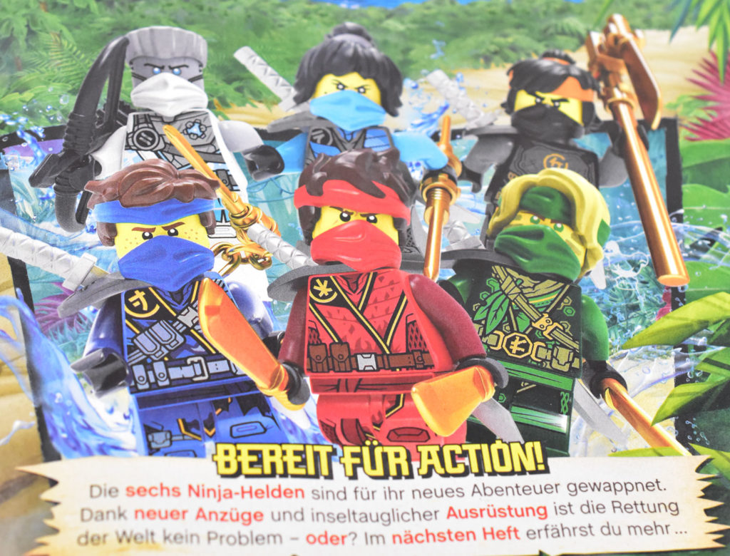 Lego Ninjago Magazine Issue 71 3