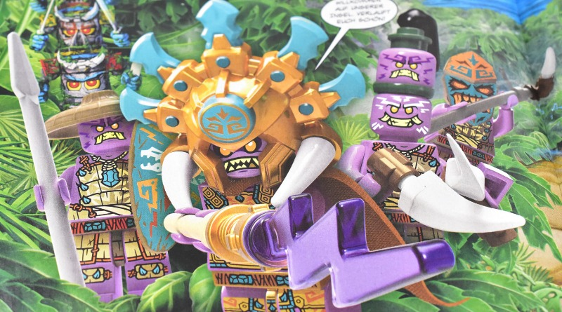 Lego Ninjago Magazine Issue 71 Preview Featured
