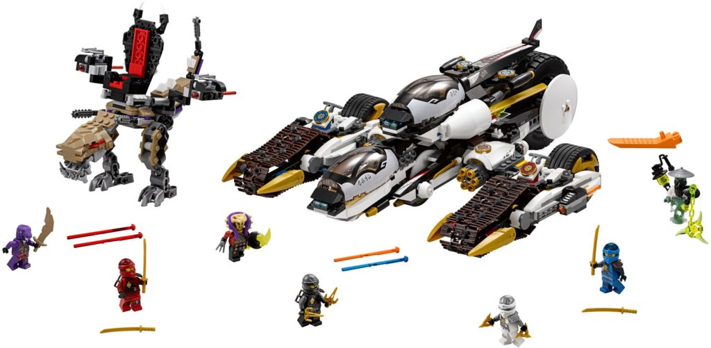 Lego Ninjago Ultra Sonic Raier 70595