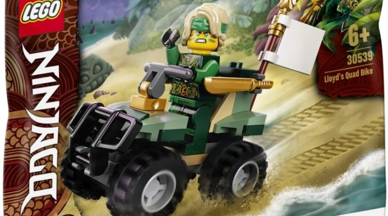Lego Polybags 2021 Ninjago 30539 Lloyds Quad Bike Featured 800x445