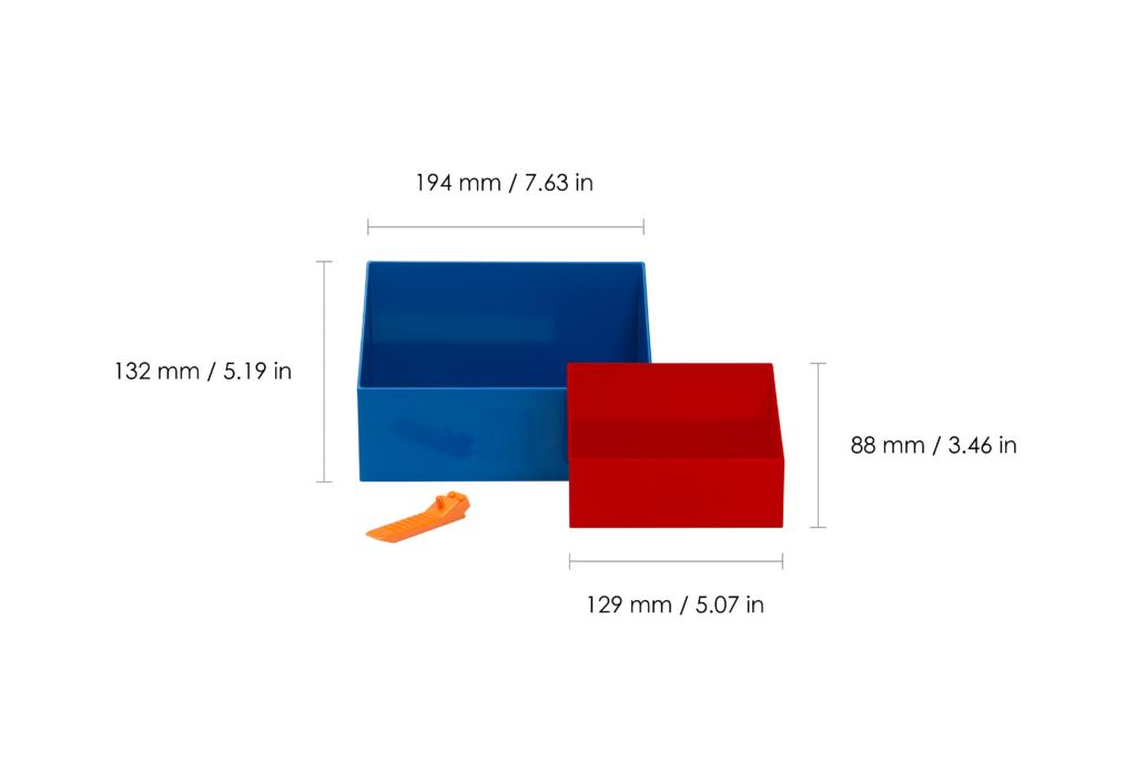 Lego Scooper Measurements