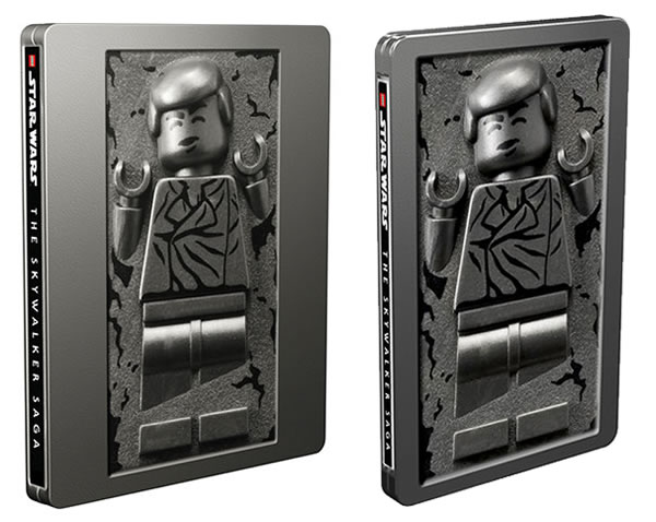 Lego Starwars Skywalker Saga Video Game Steelbooks