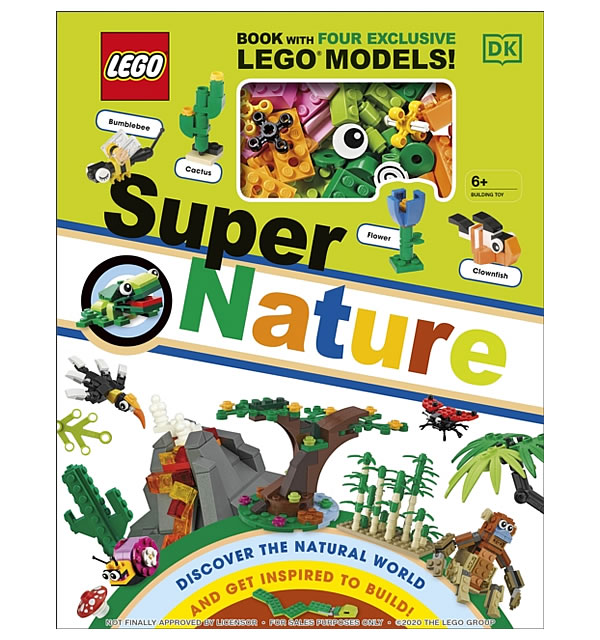 Lego Super Nature Book 2021